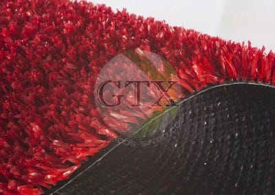 Grama Sintética 12mm Vermelha